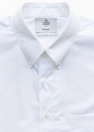 グラフペーパーのシャツです