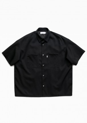 グラフペーパーのサルベージボックスシャツ