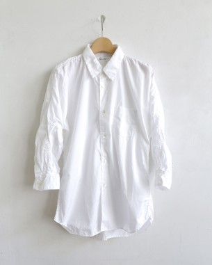 サンリミットの7分キモノ袖シャツ
