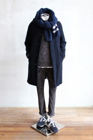 冬のコートスタイルのご提案です!