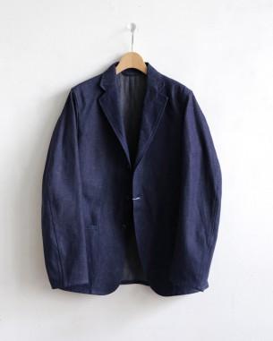 コモリの新作デニムジャケットです