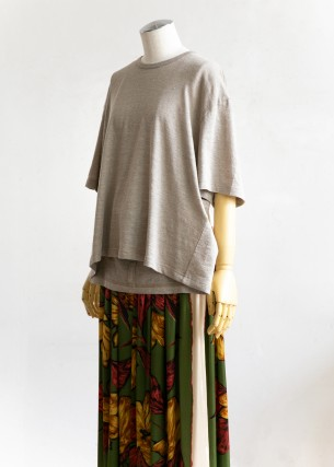 ジュンヤワタナベの花柄ドレス